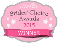 Finalist for a Brides' Choice Awards 2015